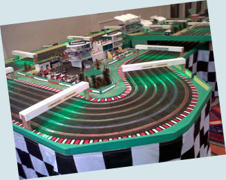 scalextric corporate event hire