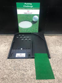 golf putting hire