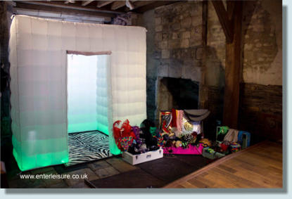 large photo booth hire