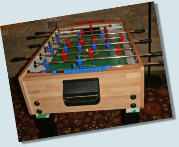 fussball table hire