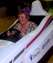 f1 simulator hire wedding