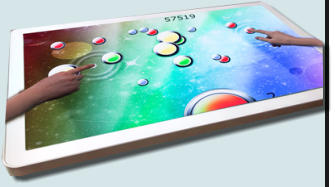 multitouch games table
