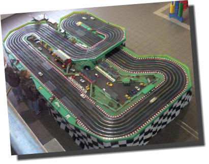 wedding scalextric